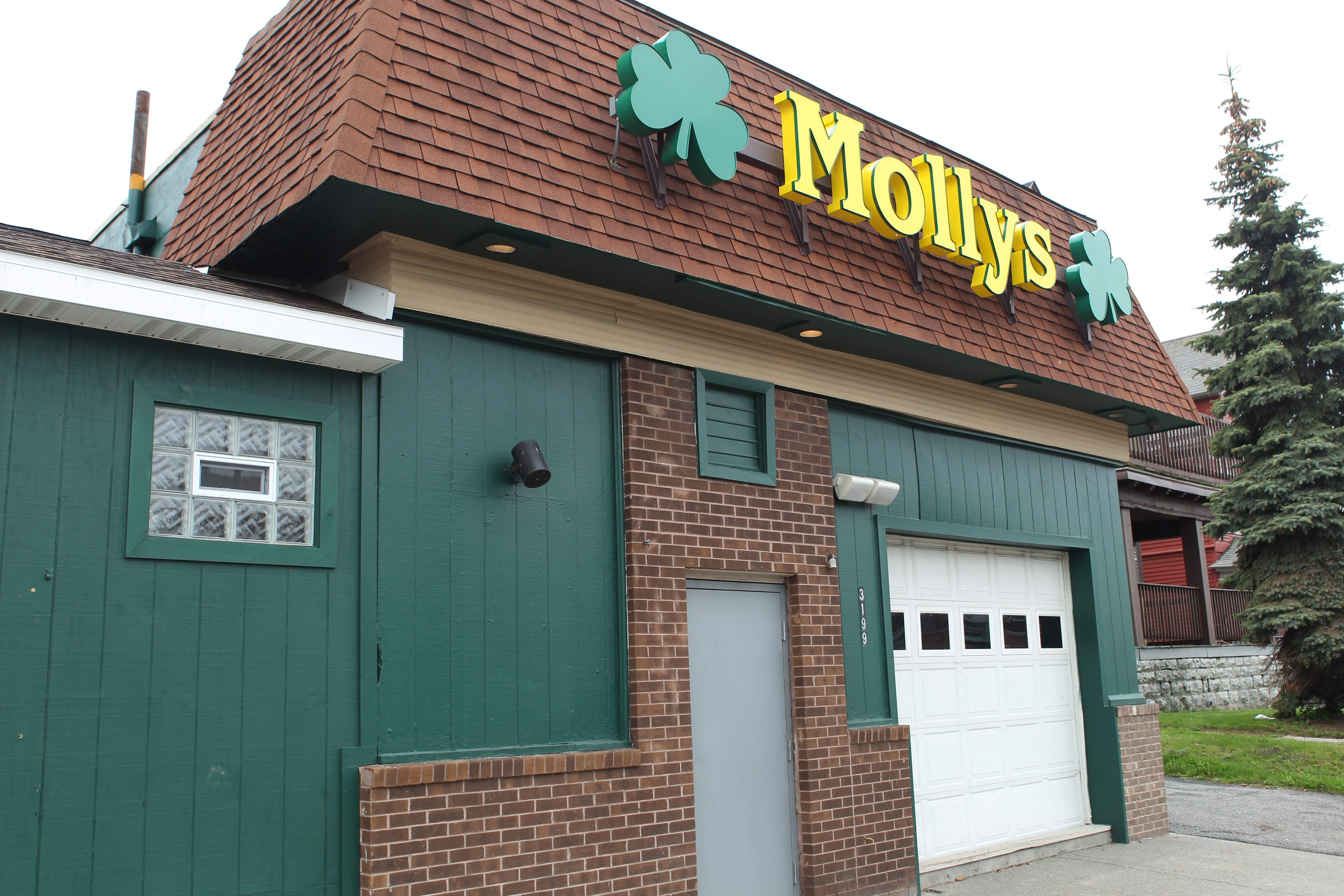 Others have reported rough treatment at the hands of Robert E. Eloff, a Buffalo police officer suspended for his off-duty conduct in a May 11 incident at Molly's Pub, above, in which a bar patron was critically injured.