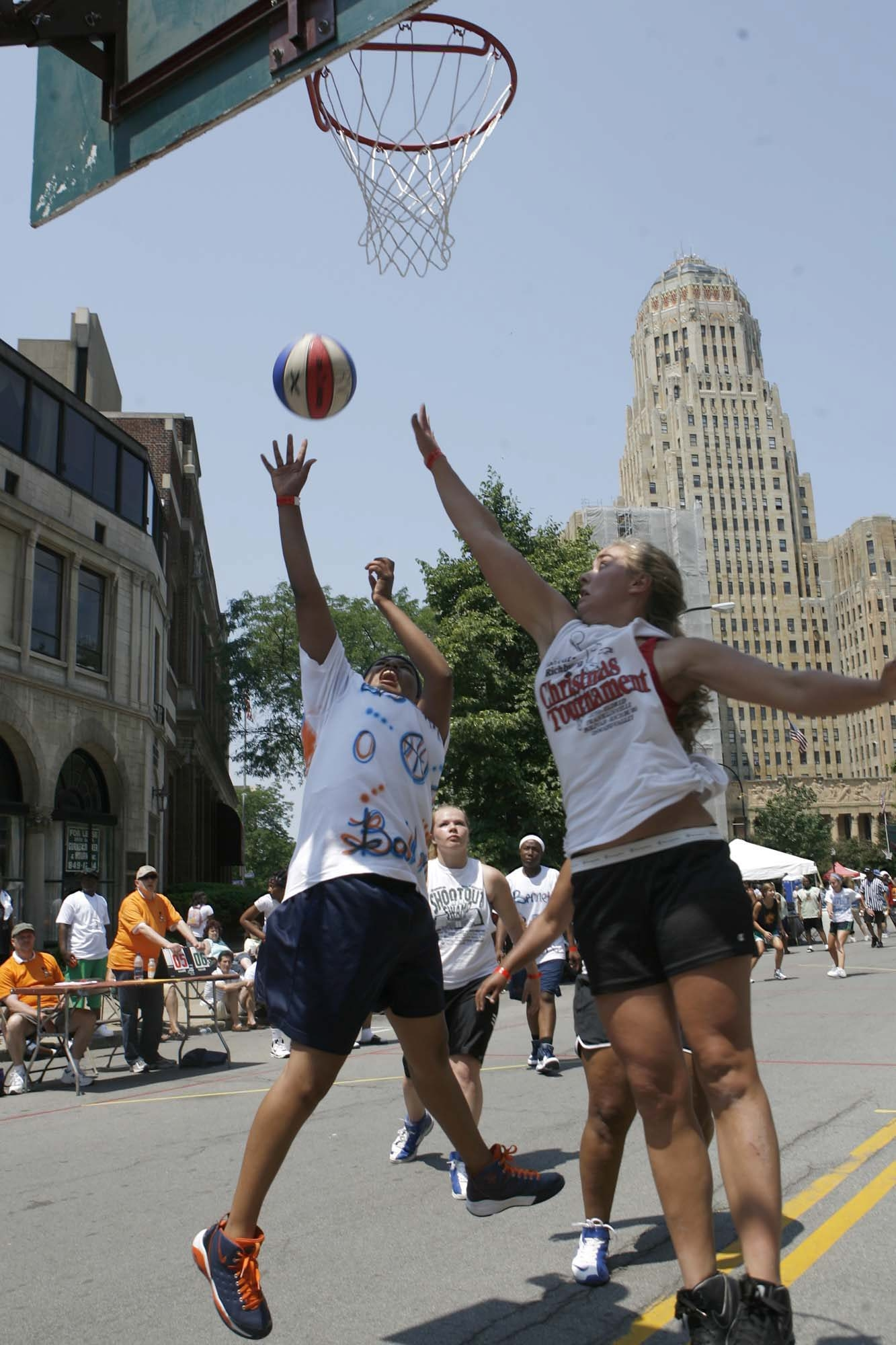 The Gus Macker tourney, played in Niagara Square for the past 23 years, is moving to Darien Lake Theme Park.