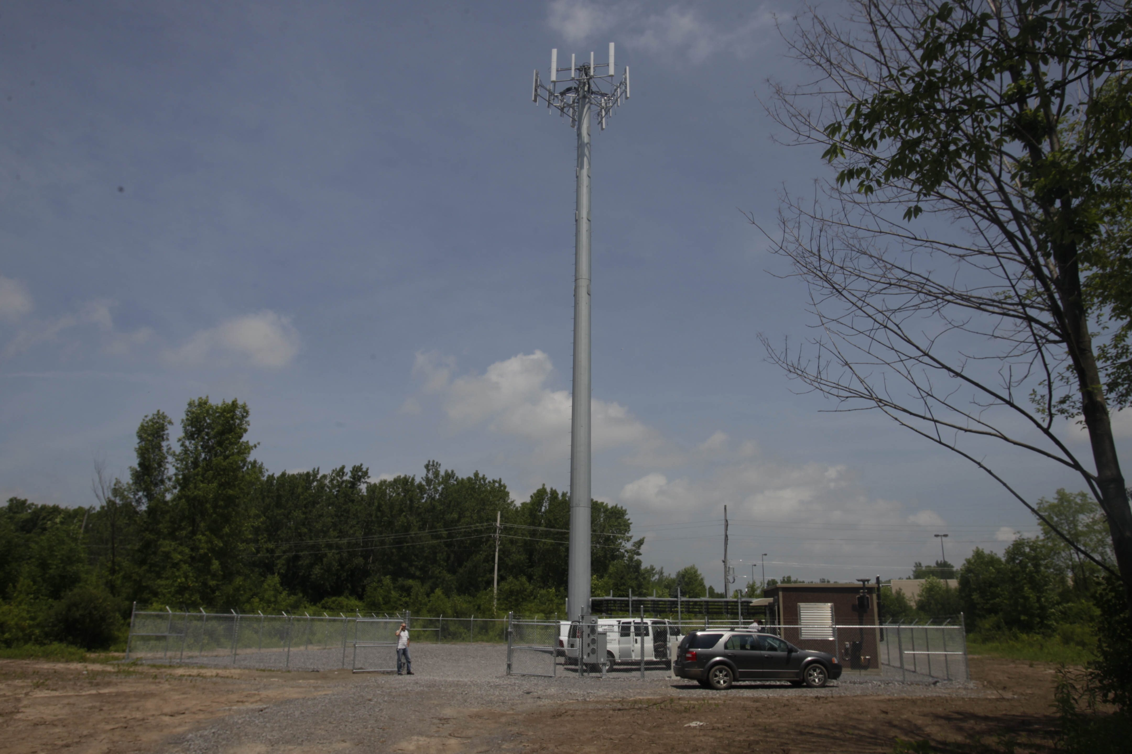 The proposed Verizon cell tower at 1420 North French Road in Amherst would look similar to this one at 1000 S. Transit Road in South Lockport.