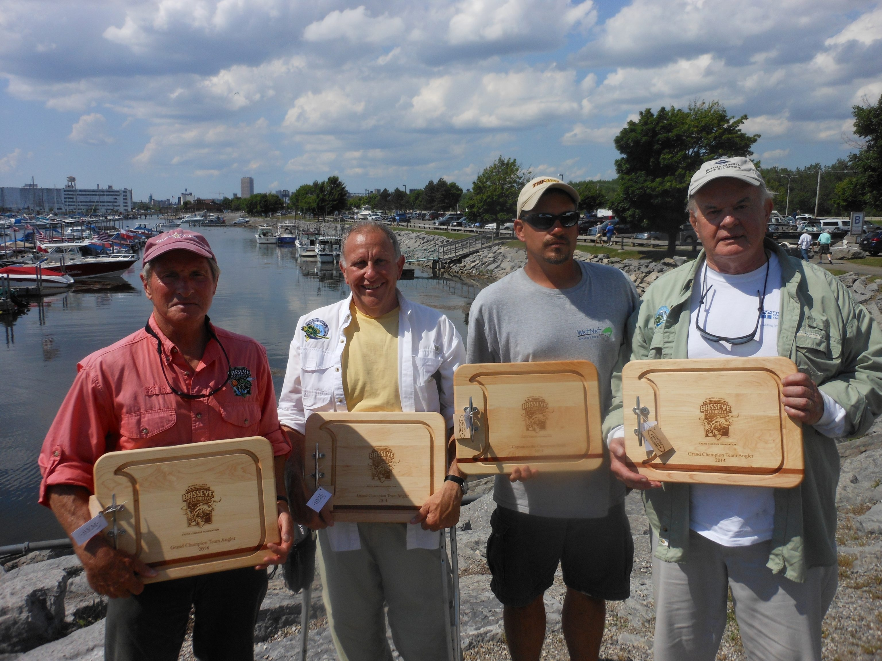 The BassEye team of Mike Keller, Fred Saia, Capt. Matt Yablonsky and Jim Schmit finished as Grand Champions.