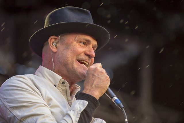 Gord Downie returned to Buffalo and put on an entertaining and powerful set Thursday at Canalside. (Don Nieman/Special to the News)