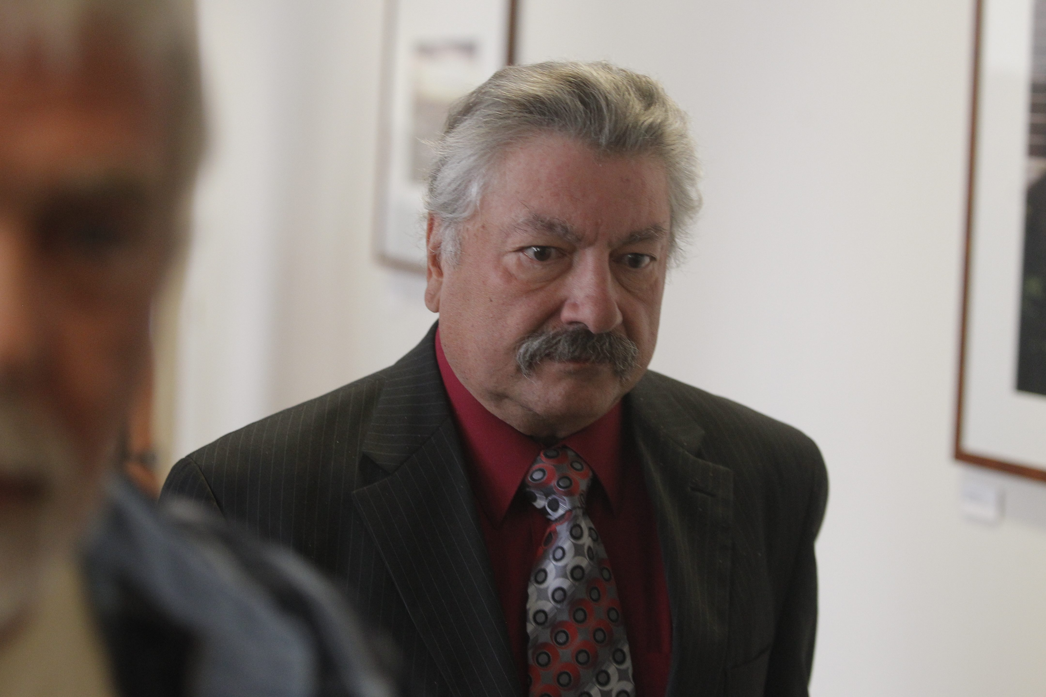 Robert Styn was spared jail time in Nov. 27 crash that killed Daniel S. McParlane, chairman of the West Seneca Democratic Committee. McParlane's car struck an icy patch and crossed into Styn's lane. (John Hickey/Buffalo News file photo)