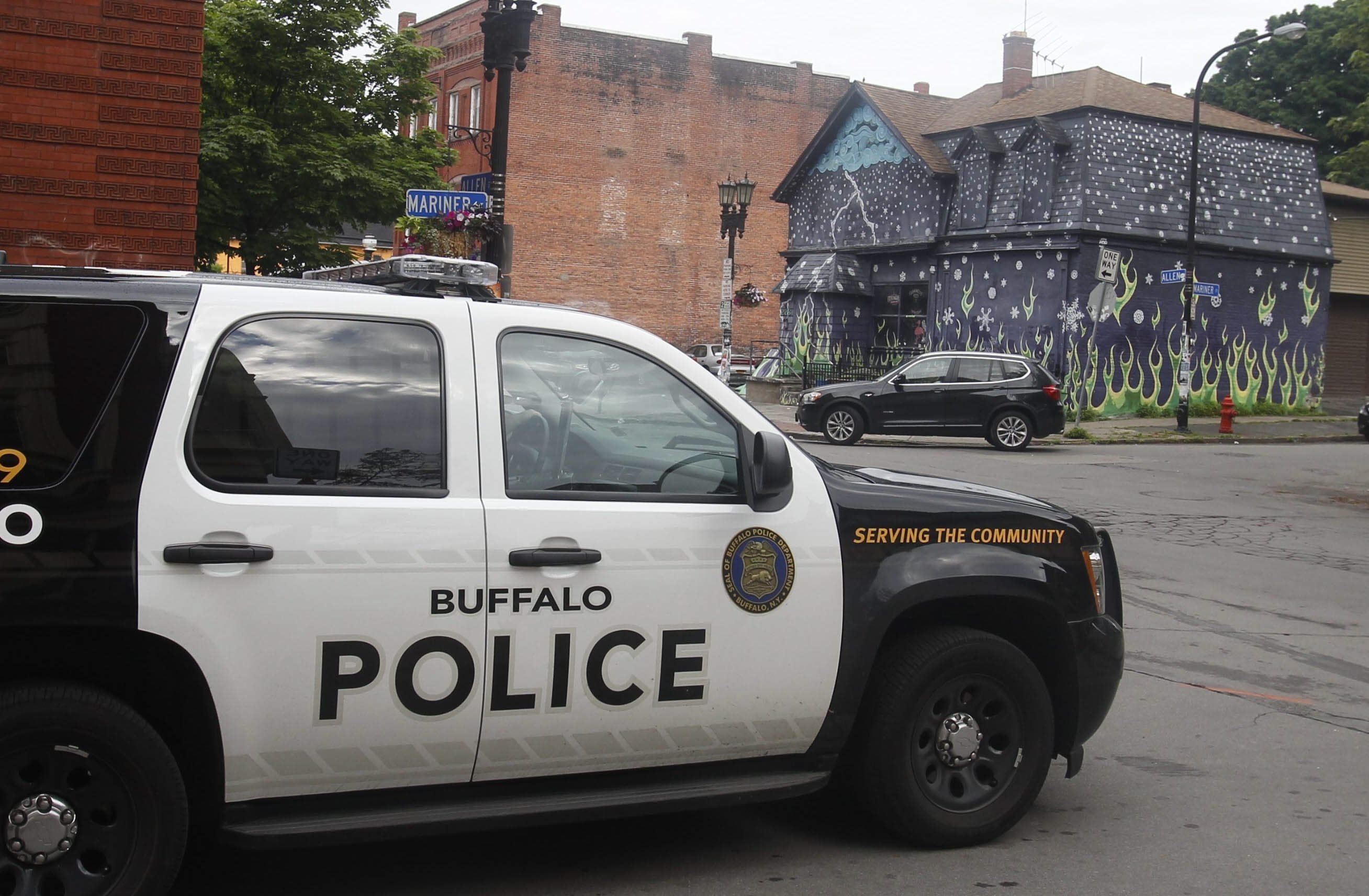 The handgun used in the June 26 shooting outside the Old Pink bar, pictured above, was among firearms, both antique and modern, sold by the great-grand-granddaughter of Elbert Hubbard, police say.  (John Hickey/Buffalo News)