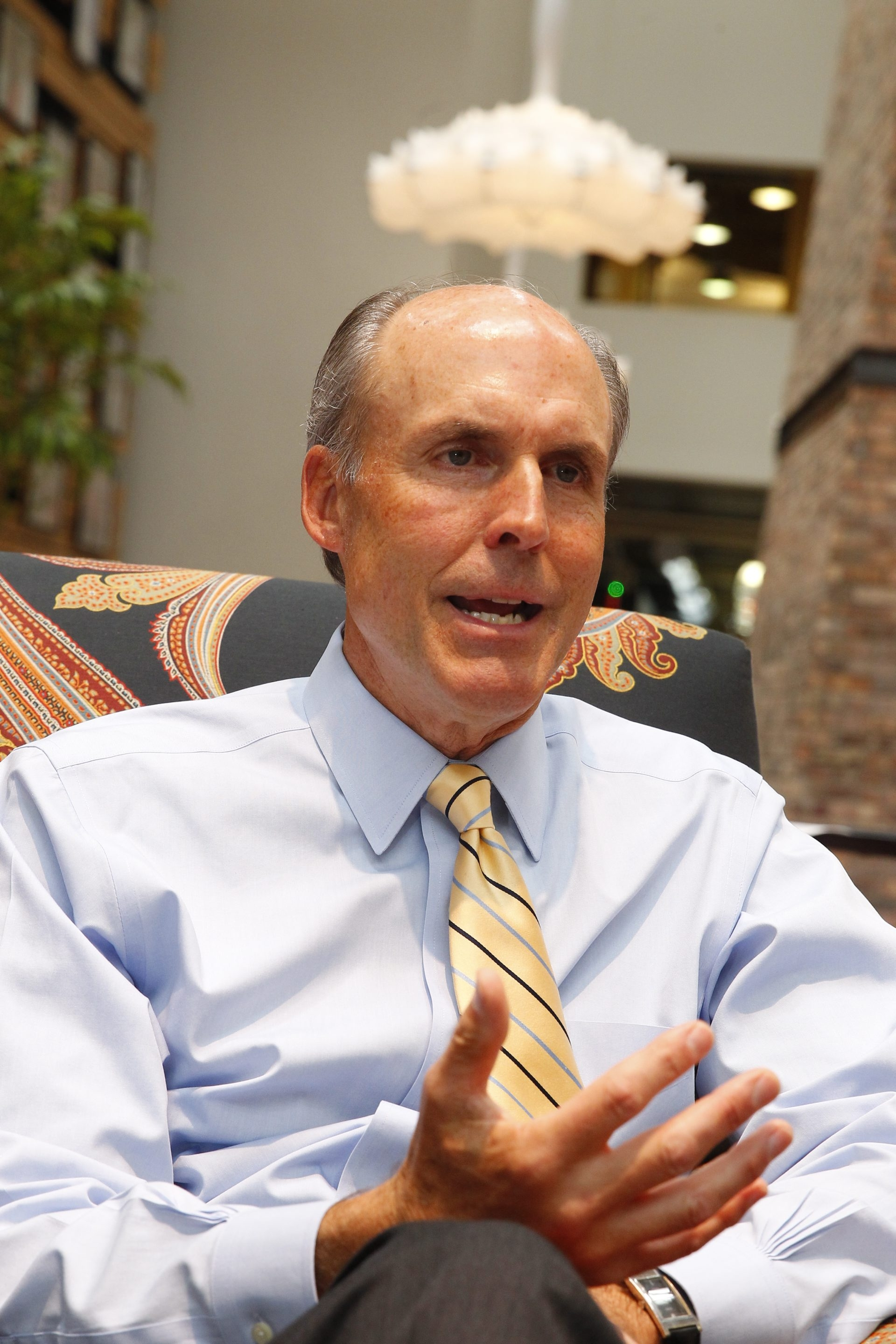 William G. Gisel Jr., Rich Products CEO, said the company got into foreign markets early.
