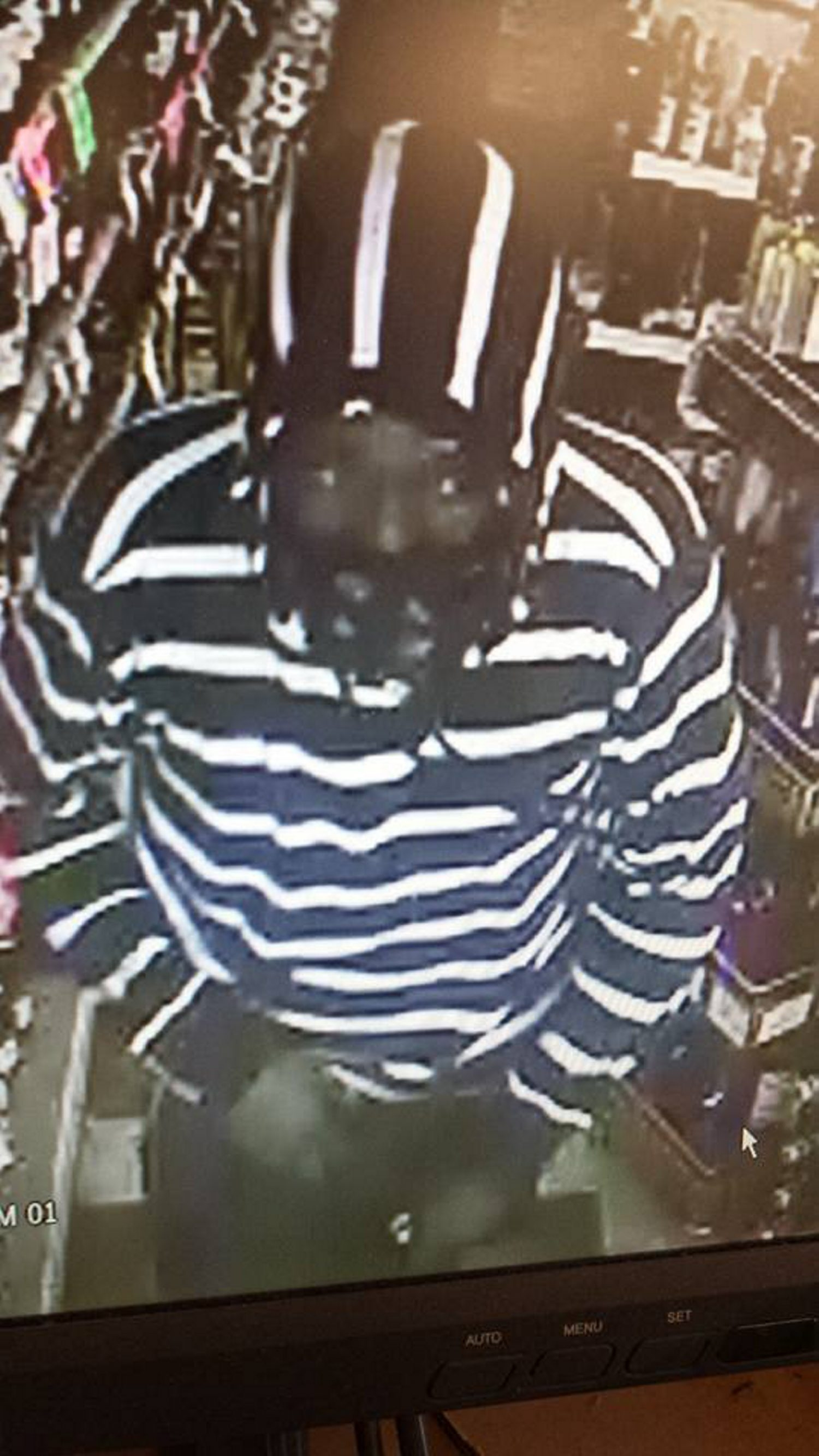 Surveillance photo of robbery suspect provided by Depew police.