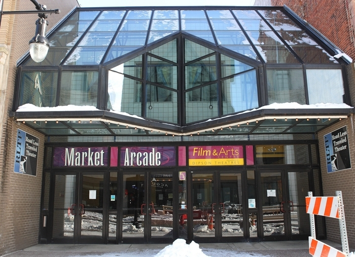 The City of Buffalo is seeking bids to operate the Market Arcade Theater on Main Street downtown.  (Sharon Cantillon/Buffalo News)