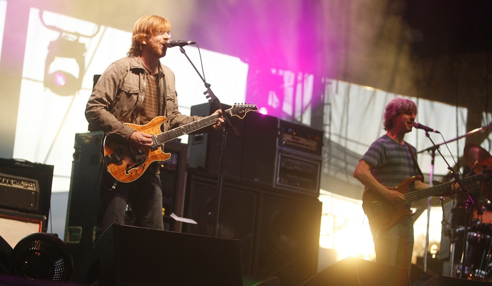 Jeff Miers had a distinctly Phish-flavored vacation. (John Hickey / Buffalo News file photo)