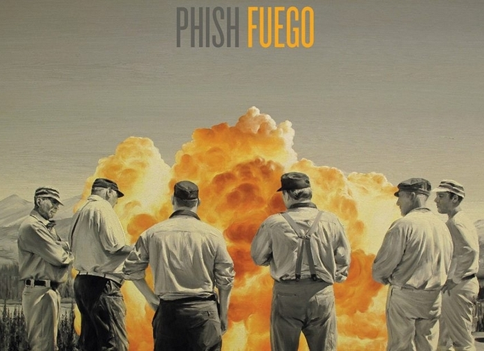 """This CD cover image released by JEMP Records shows """"Fuego"""" by Phish. (AP Photo/JEMP Records)"""