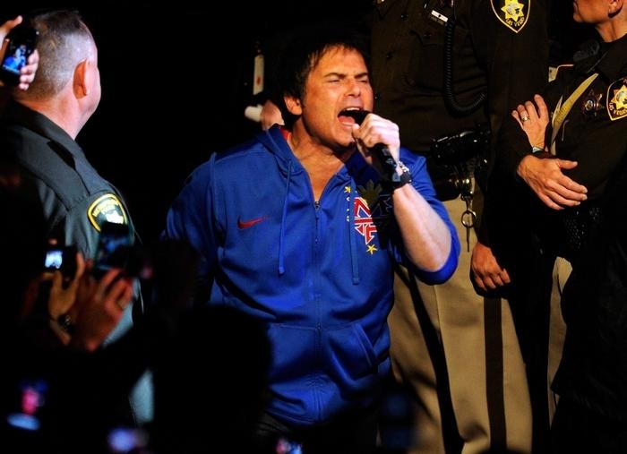 Jimi Jamison and Survivor perform at the Seneca Allegany Casino. (Getty Images)