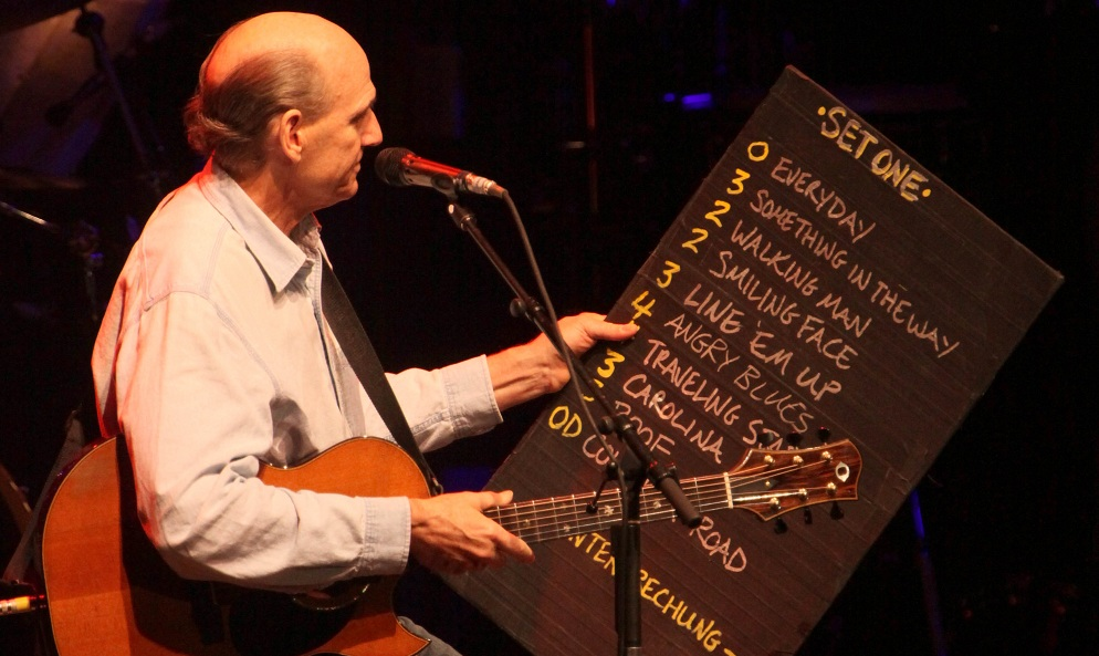 James Taylor plays Kleinhans on May 17, 2011. (Robert Kirkham / Buffalo News file photo)