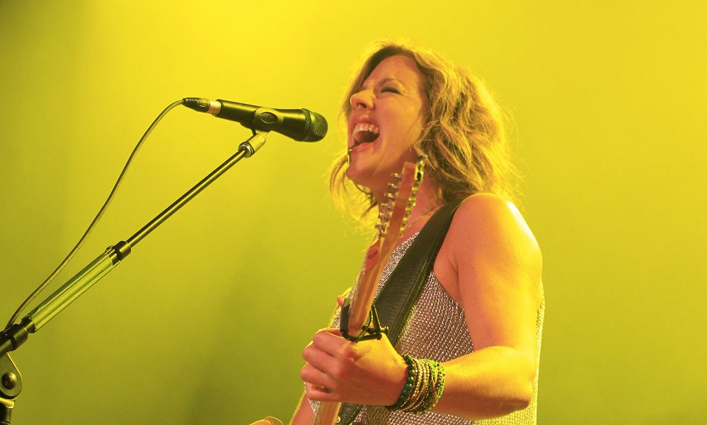 Sarah McLachlan performs at Artpark on Monday, July 14, 2014. See full galleries of both fans and McLachlan on BuffaloNews.com. (Harry Scull Jr. /Buffalo News)