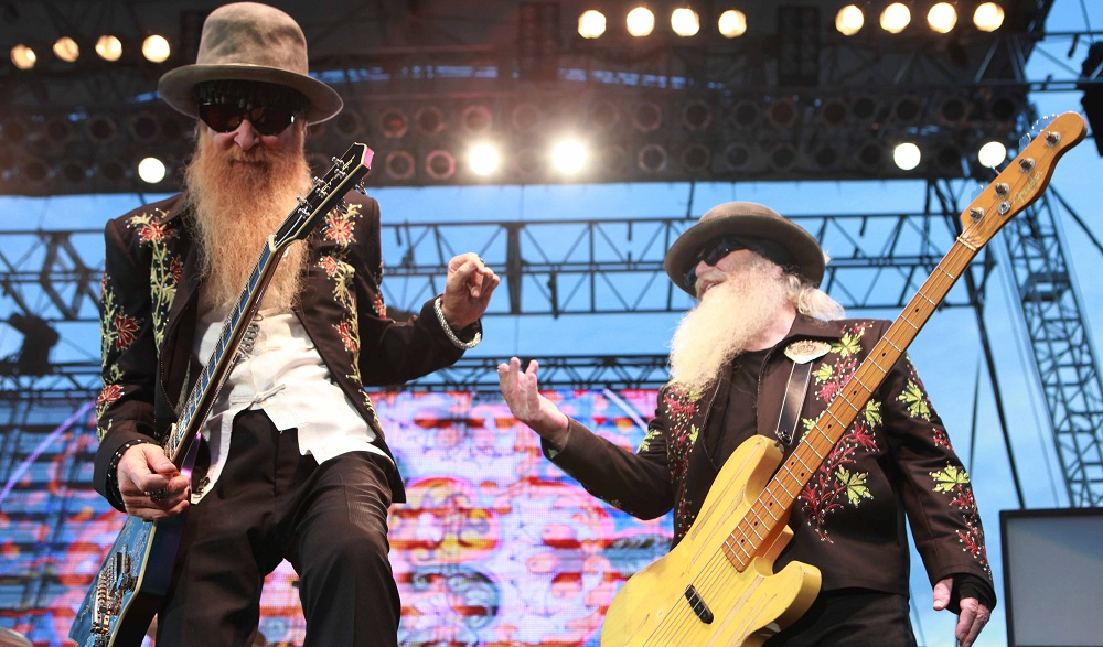 ZZ Top, performing here at Artpark in 2011, offers a special twist on the band's favorites.