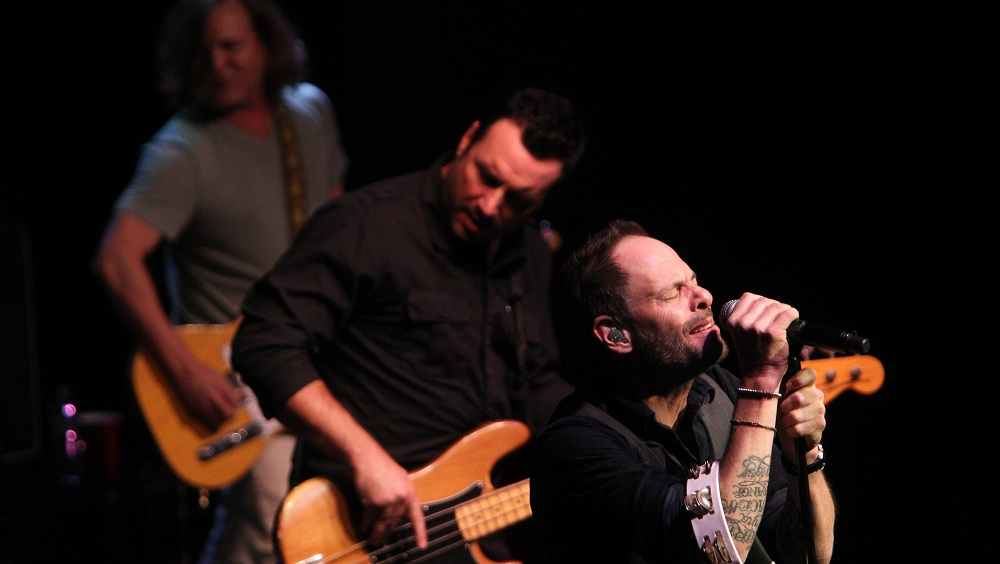 The Gin Blossoms, pictured here at the Seneca Niagara Casino in November 2013, headline the Ellicottville Summer Music Festival on July 6, 2014. (Sharon Cantillon/Buffalo News)