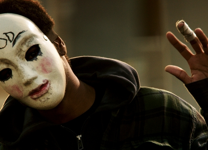 """The fight for survival continues in the sequel """"The Purge: Anarchy."""""""