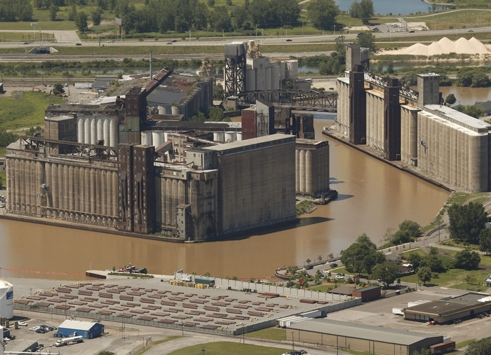 """Three locations at Silo City will be used during a reading of Henrik Ibsen's """"The Master Builder."""" (Derek Gee/Buffalo News file photo)"""