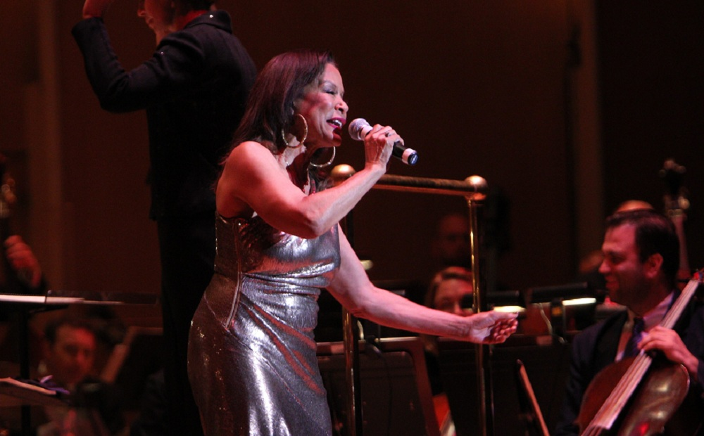 Freda Payne, performing here with the BPO, gets the Jeff Simon treatment in this disc review. (Sharon Cantillon / Buffalo News file photo)