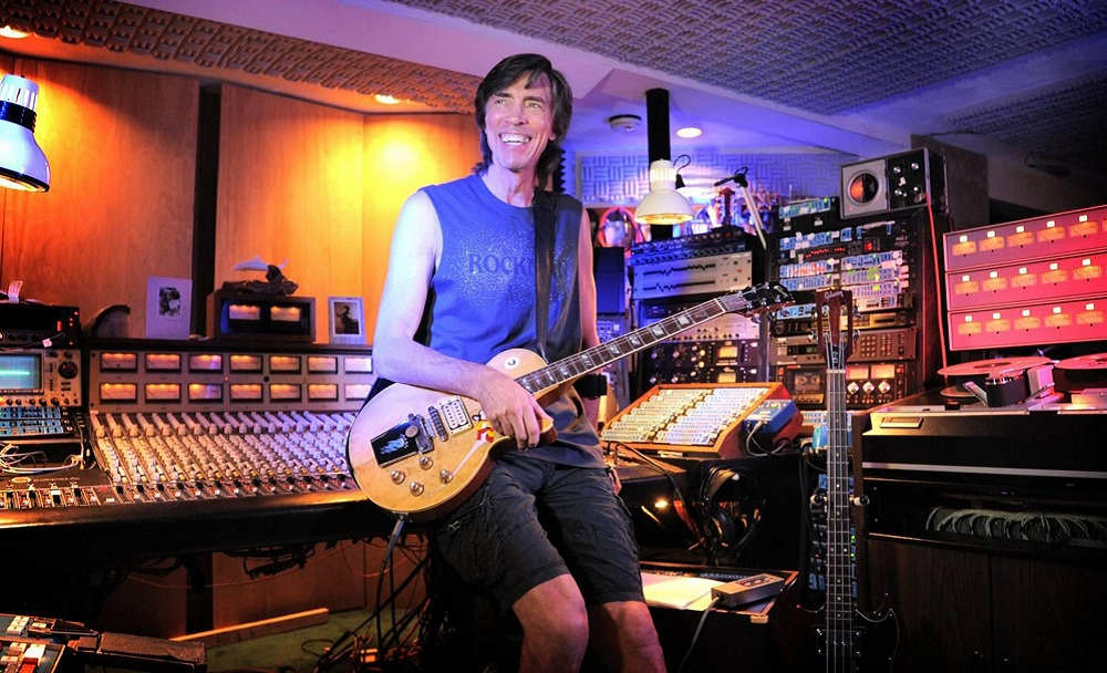 Photo of Boston's Tom Scholz is courtesy of Kamal Asar Photography.