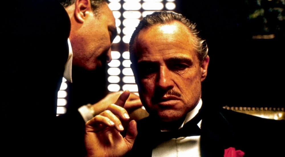"A scene from ""The Godfather,"" which will be shown at North Park Theatre during the Italian Heritage Festival."