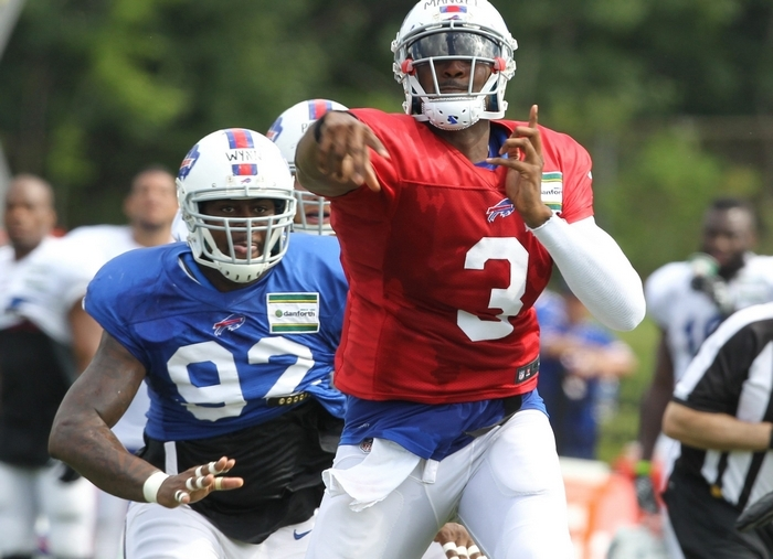 Bills quarterback EJ Manuel hopes his team will score a lot of points as it opens the preseason schedule against the New York Giants tonight. (James P. McCoy/Buffalo News)