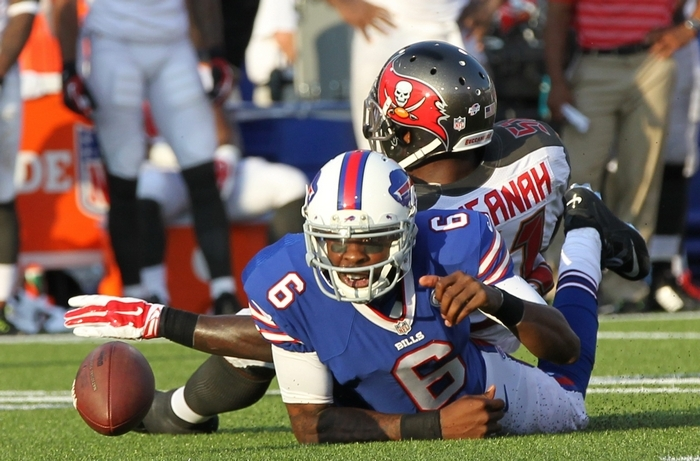 Dennis Dixon couldn't help the Bills get a better handle on their backup quarterback spot. (James P. McCoy/Buffalo News)