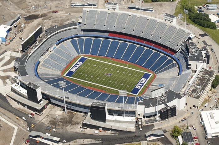 Ralph Wilson Stadium in Orchard Park, Thursday, July 10, 2014.  (Derek Gee/Buffalo News)