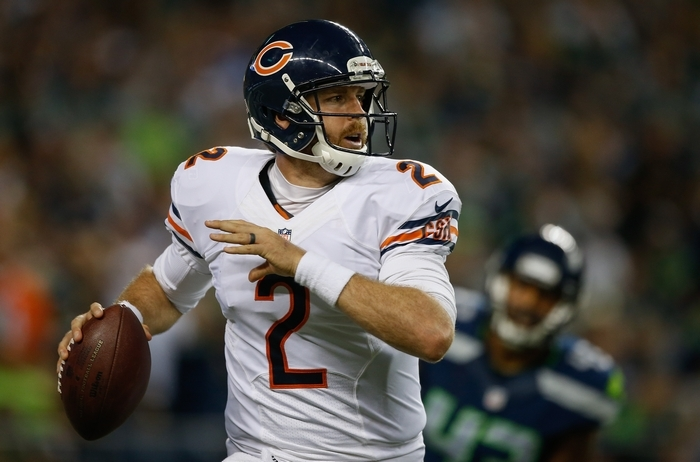 Quarterback Jordan Palmer will be counted on to provide some experience backing up EJ Manuel. (Getty Images)