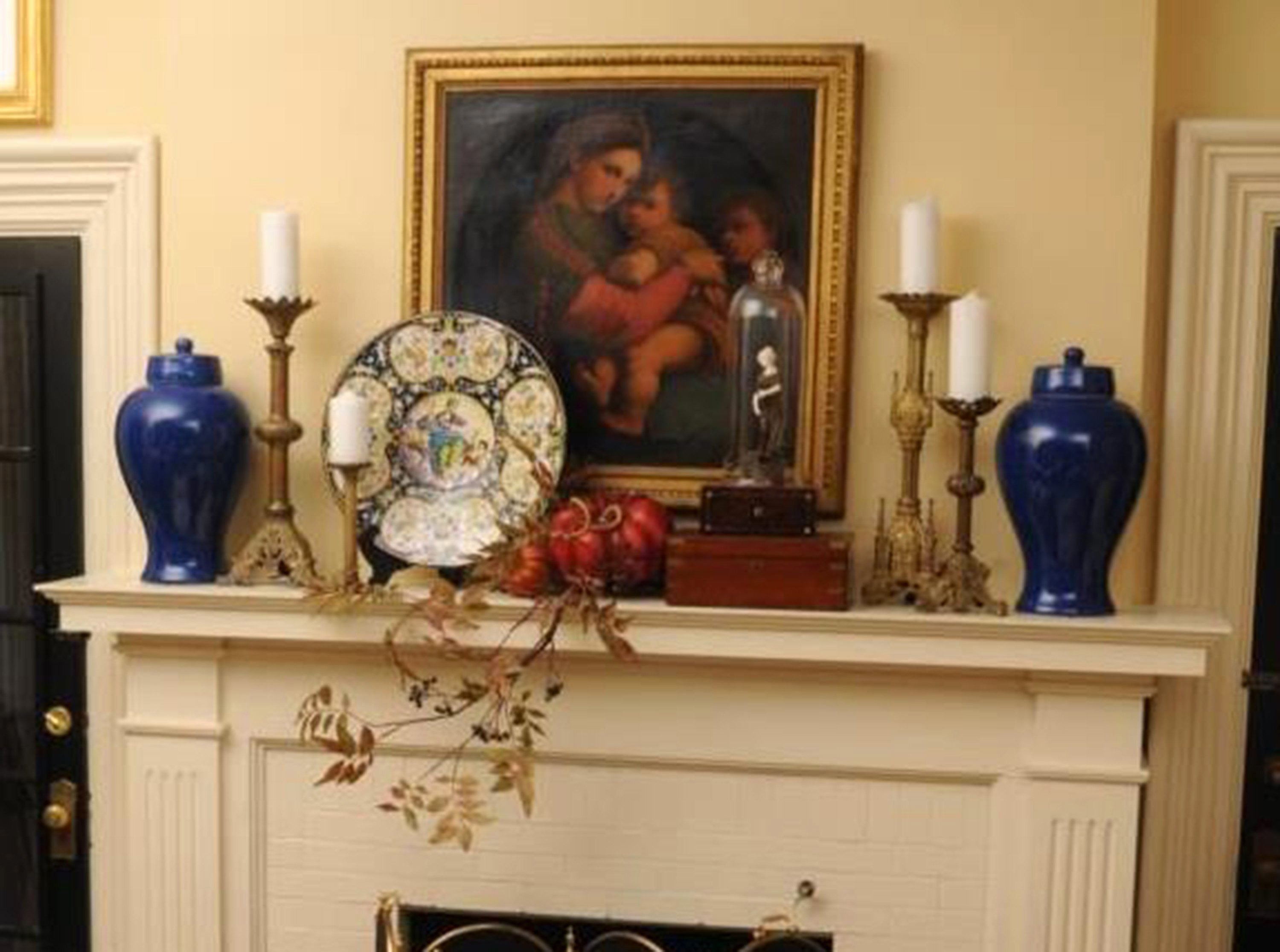 If you want to decorate your home for fall in the coming weeks, the perfect place to start is your fireplace mantel – one of the most visible spots in the house.