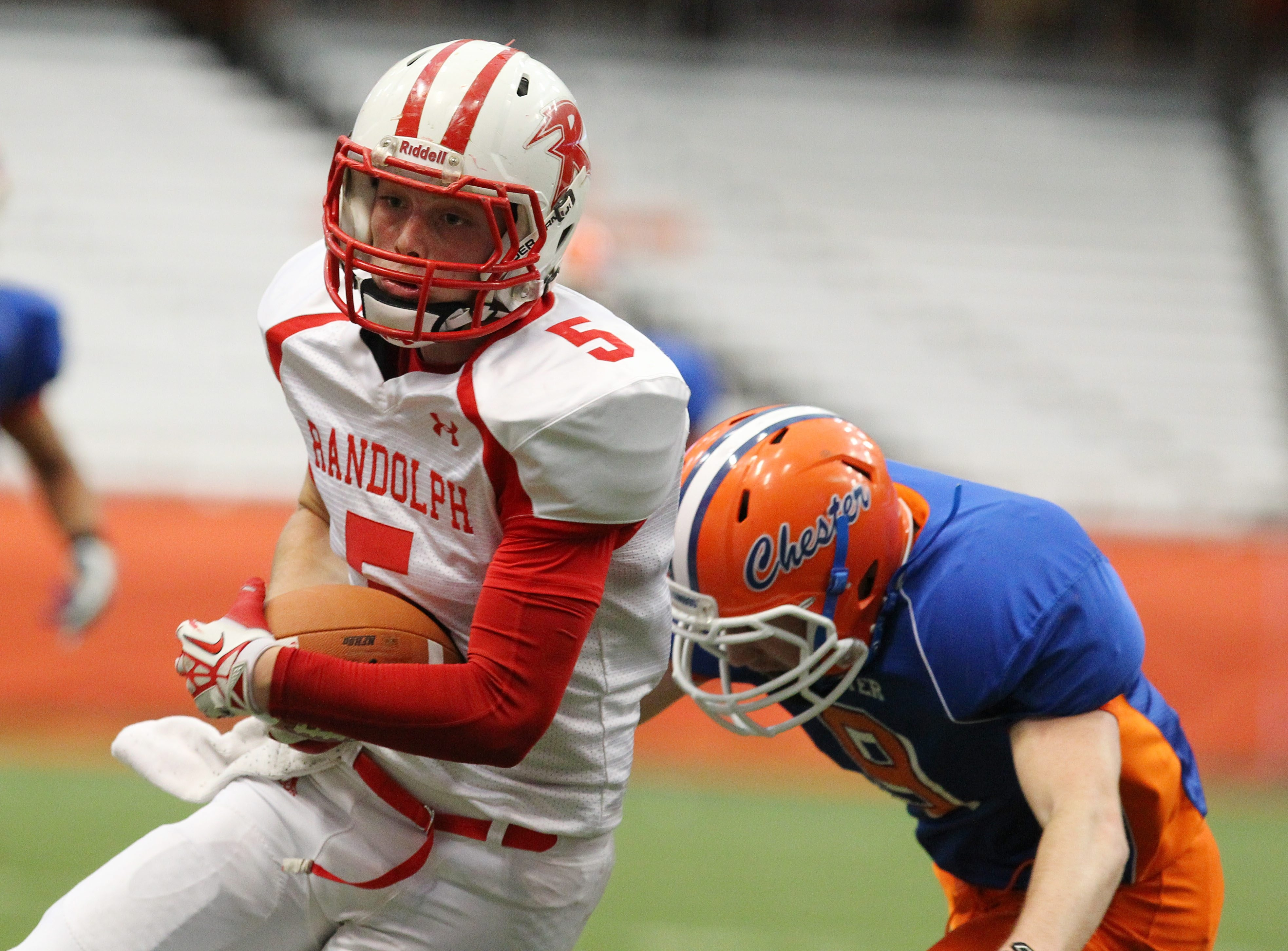 Randolph's Bryce Morrison is one of the top returning players on a team that has won the last two state championships.
