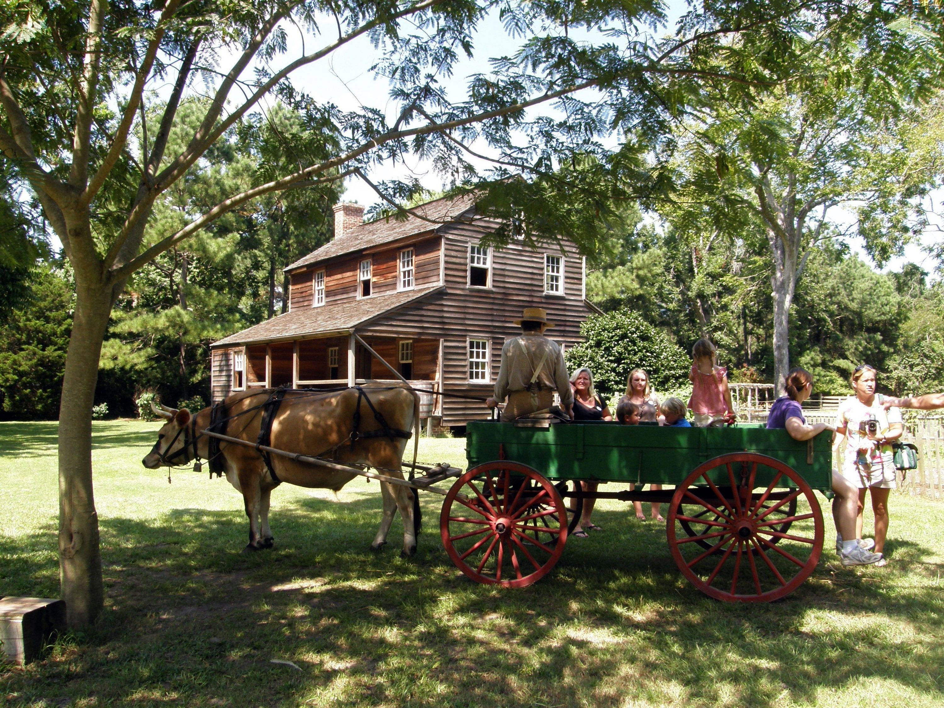 Island Farm offers a glimpse of everyday life on a mid-19th-century farm. The Roanoke Island property is where Richard Ethridge, the only African-American captain of the U.S. Life Saving Service, grew up.