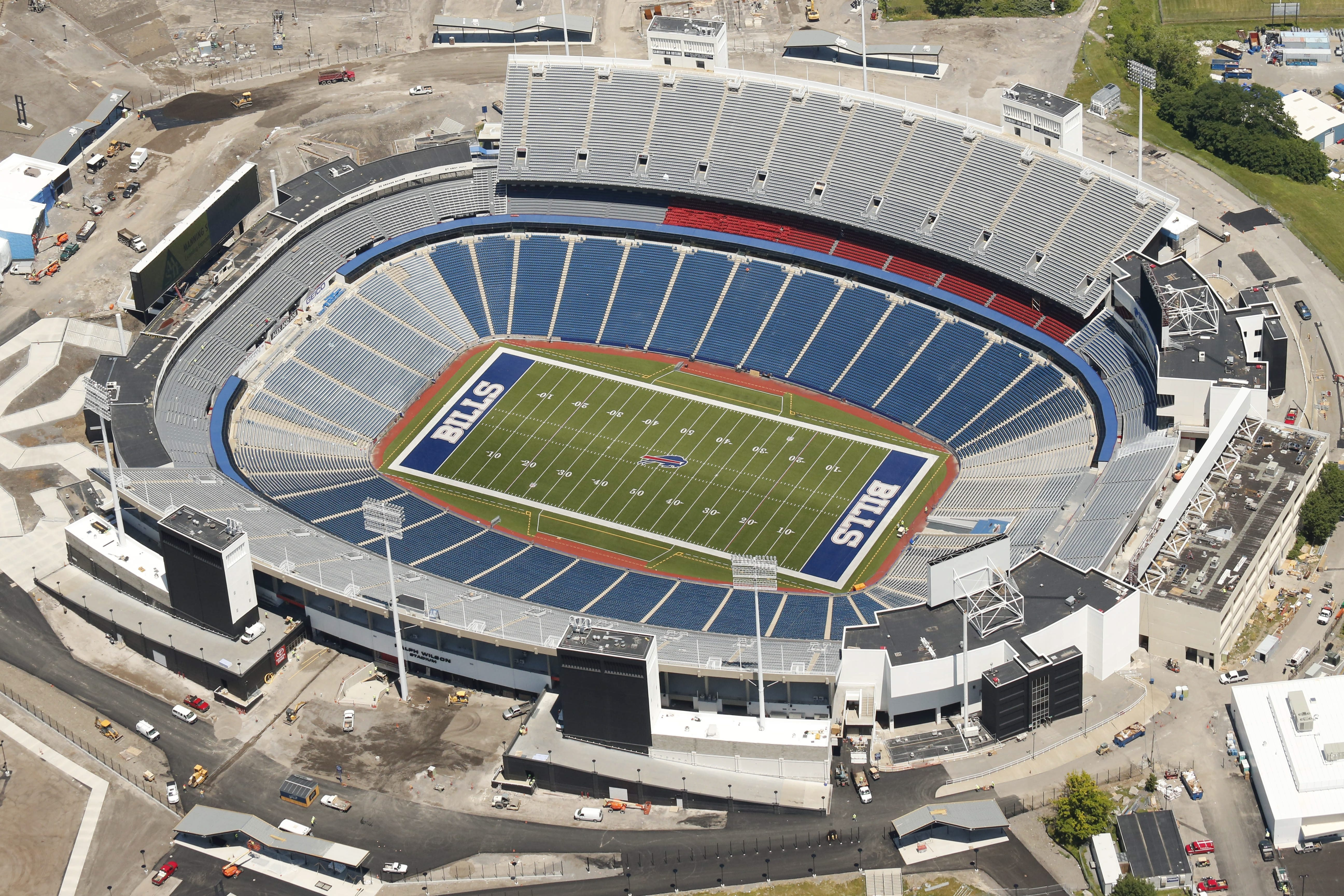 Ralph Wilson Stadium is in the wrong place and isn't plush enough to create the level of profit the NFL wants.