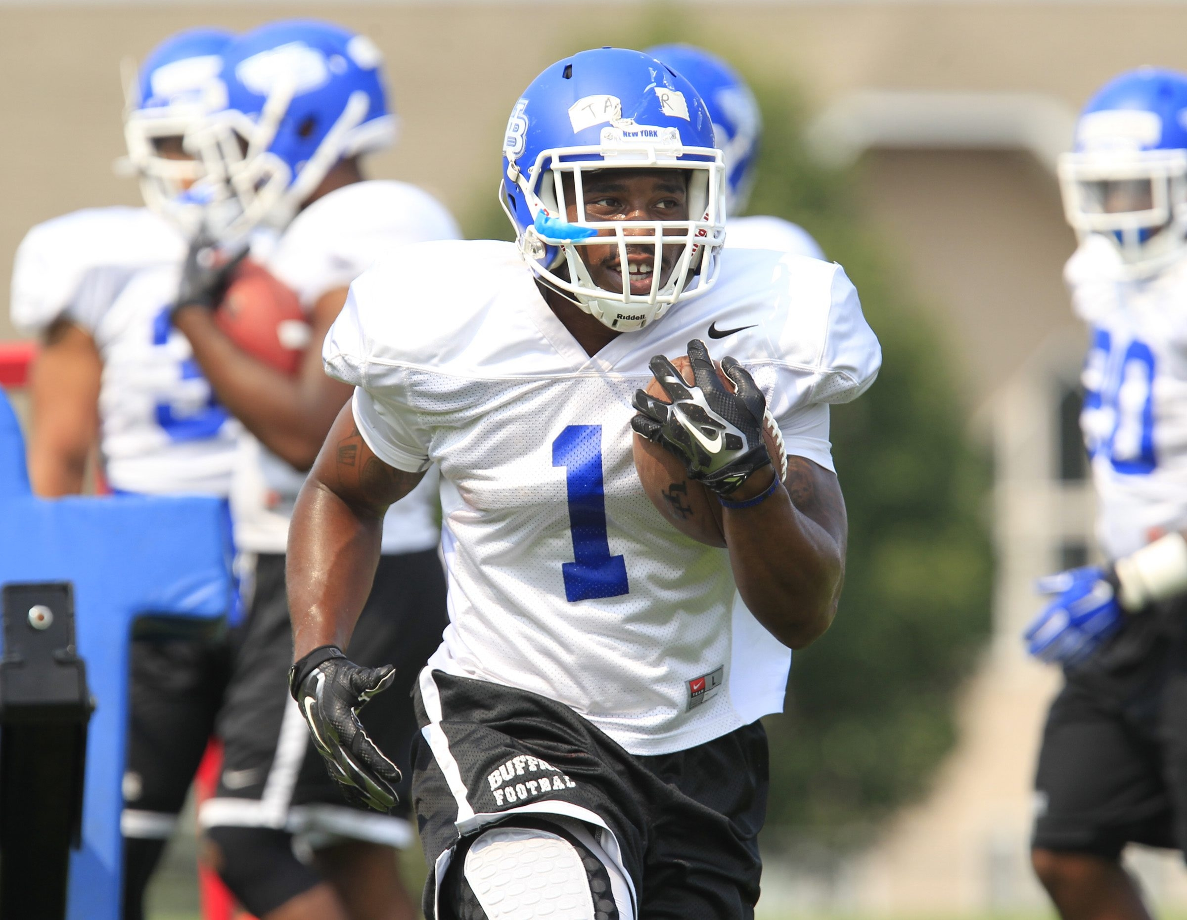 UB junior running back Anthone Taylor has earned the starter's role for the team's opener Saturday against Duquesne. Backing up Taylor will be junior Devin Campbell and sophomore Jordan Johnson, the former Sweet Home High star.