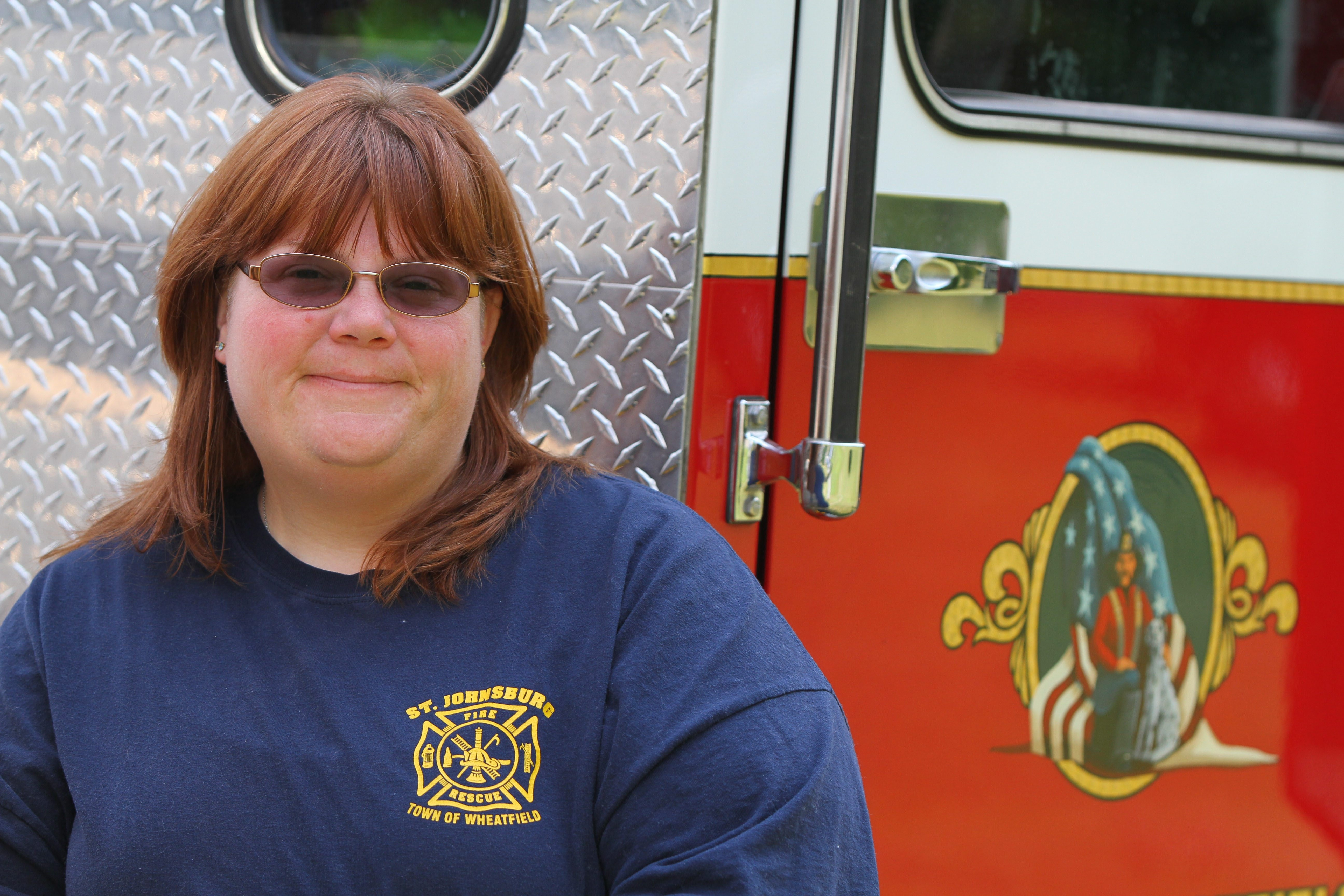 Wendi Walker has been a firefighter for 20 years.