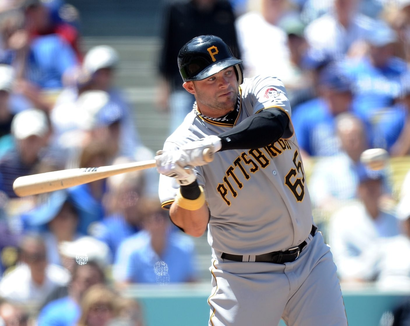 Matt Hague was a member of the Pittsburgh Pirates organization before coming over to the Bisons on Monday.