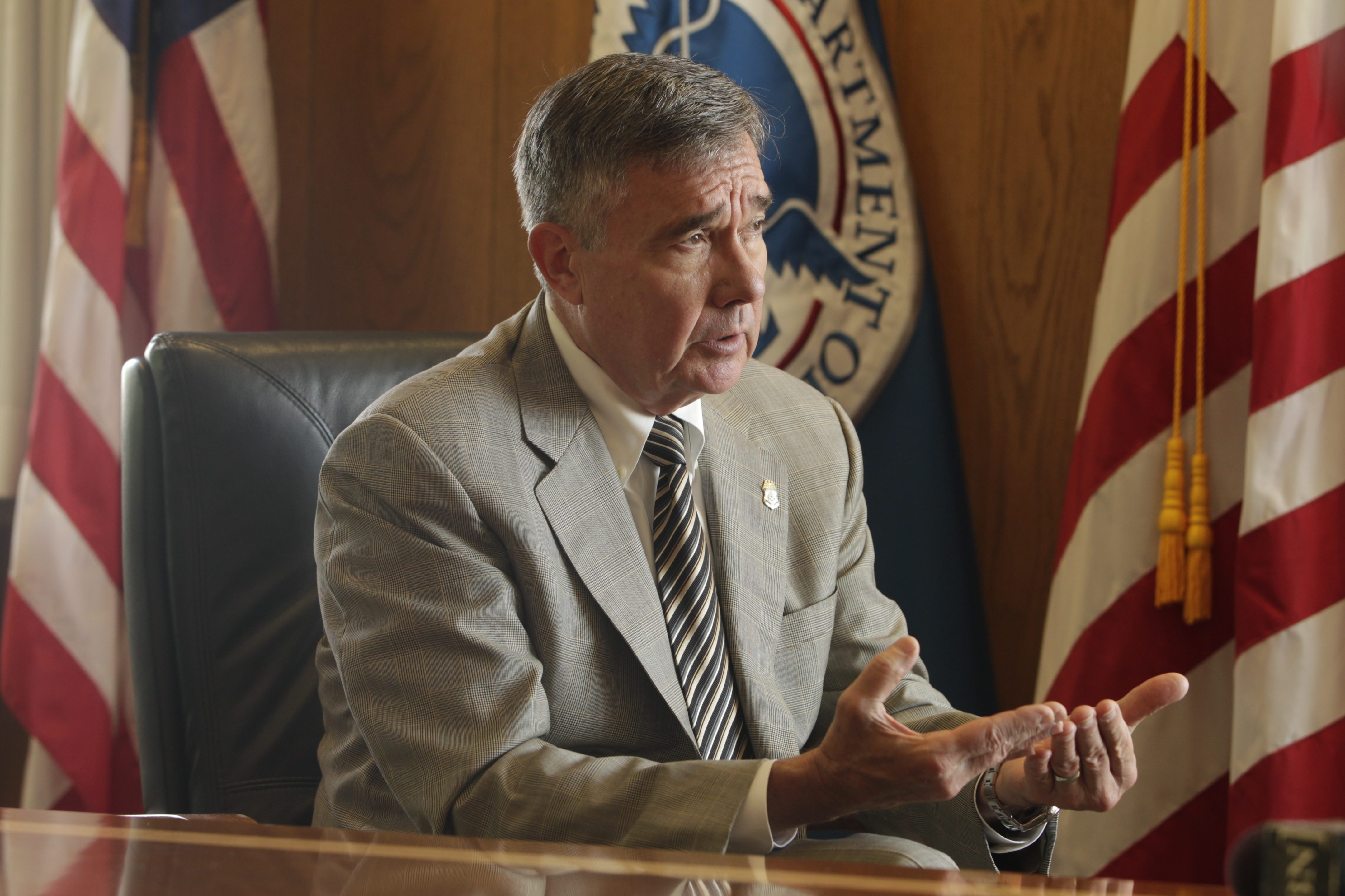 R. Gil Kerlikowske, city police commissioner from 1994 to 1999, now is head of U.S. Customs and Border Protection.