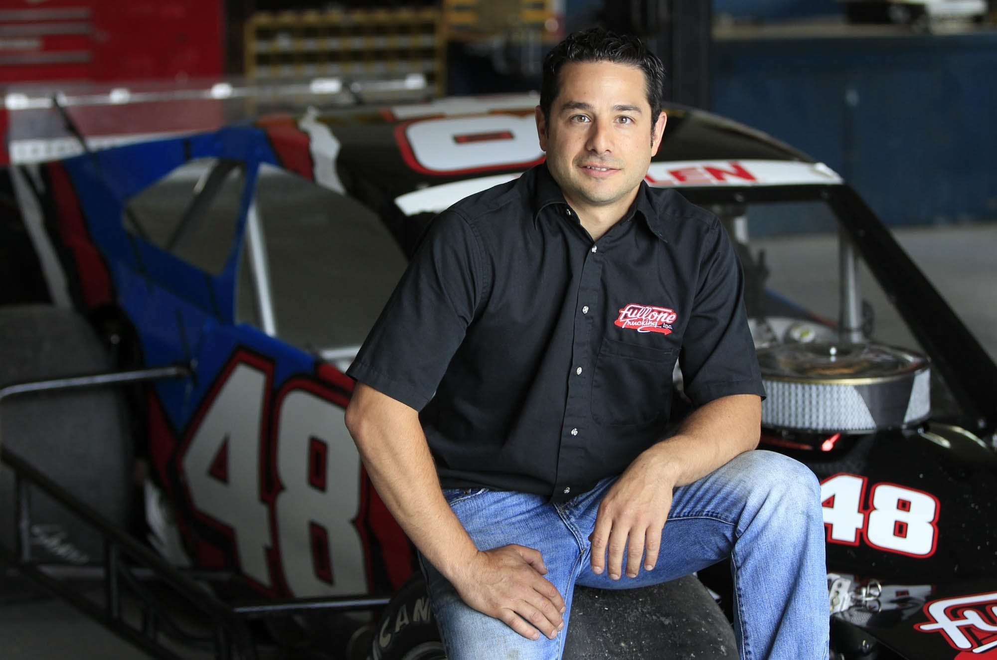 Sam Fullone and his North Collins-based racing team are competing on the Sunoco Race of Champions Modified Tour this season.