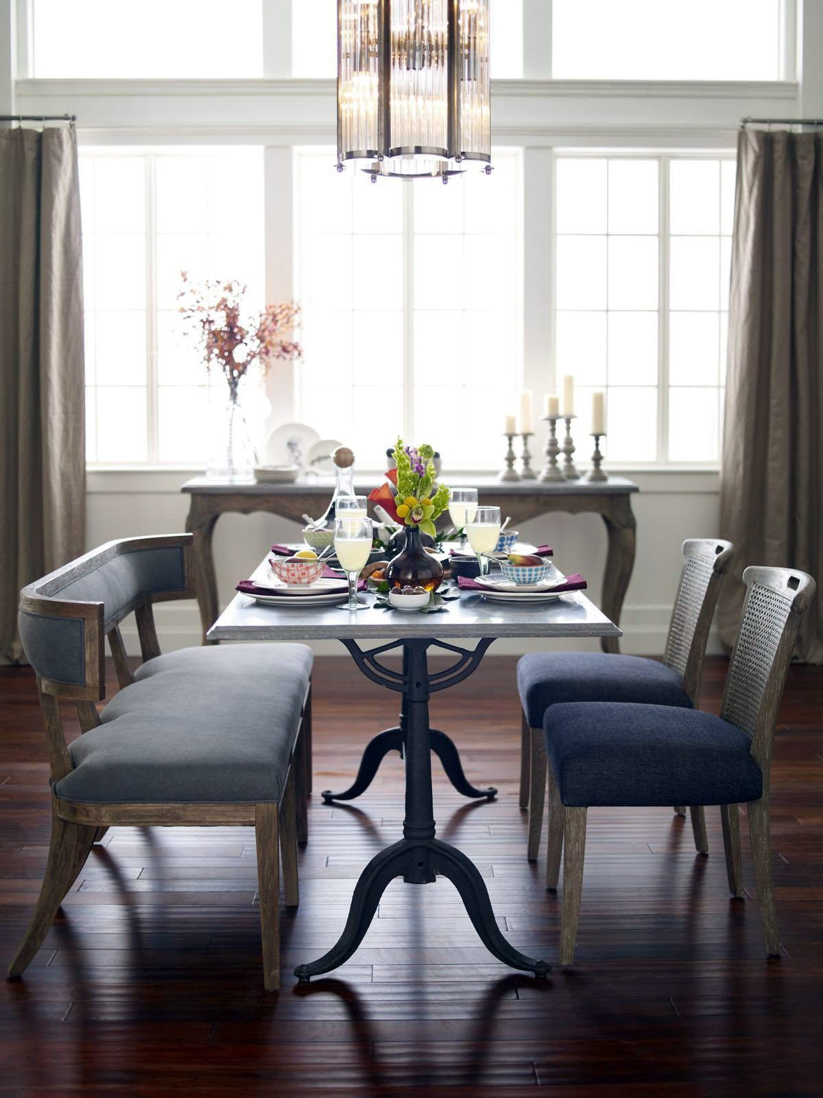 Whether it's a casual luncheon or a holiday dinner, a great meal starts with a great table and chairs.
