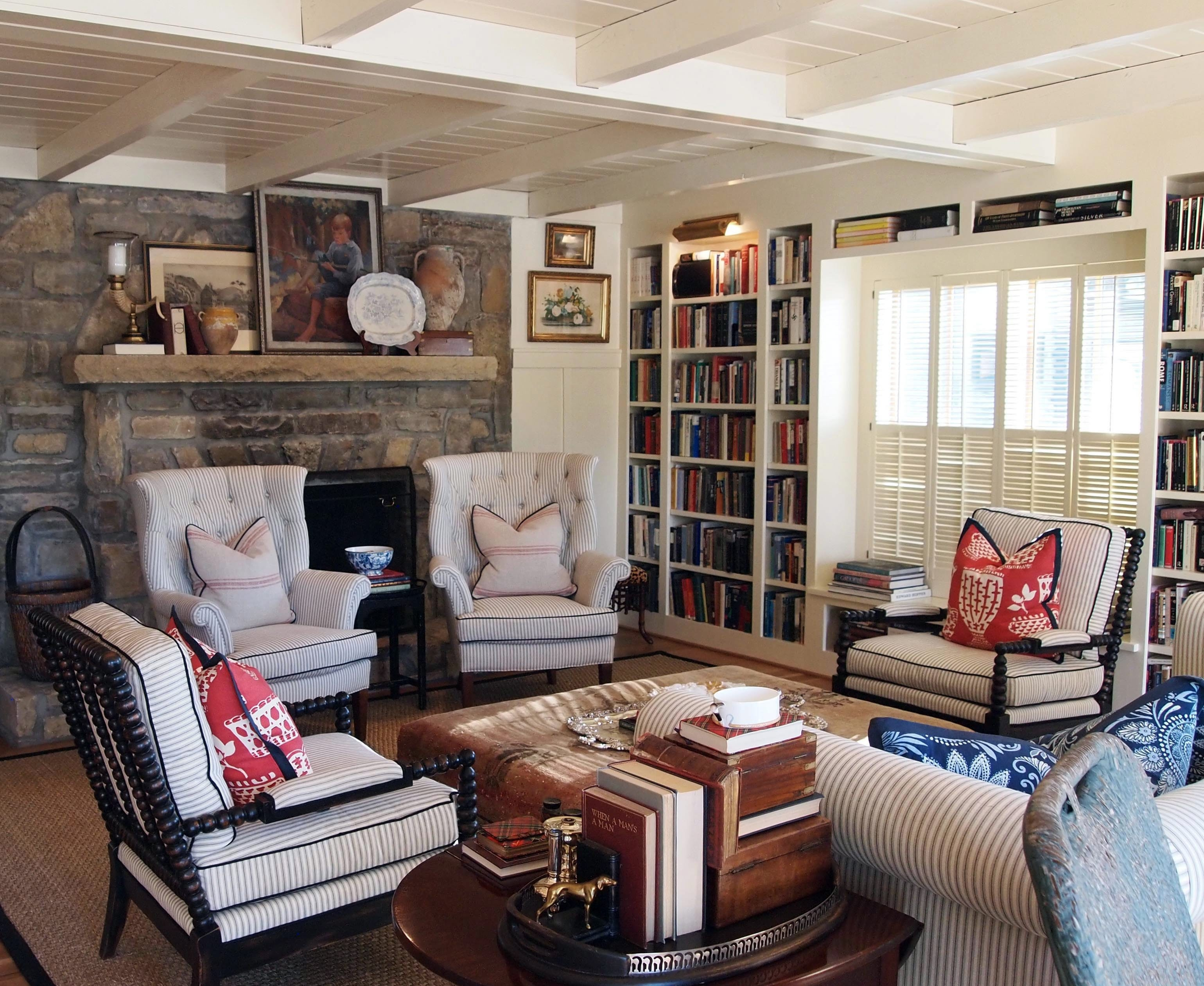 Downsizing from a larger home is an art, but you can still maintain a stylish space.