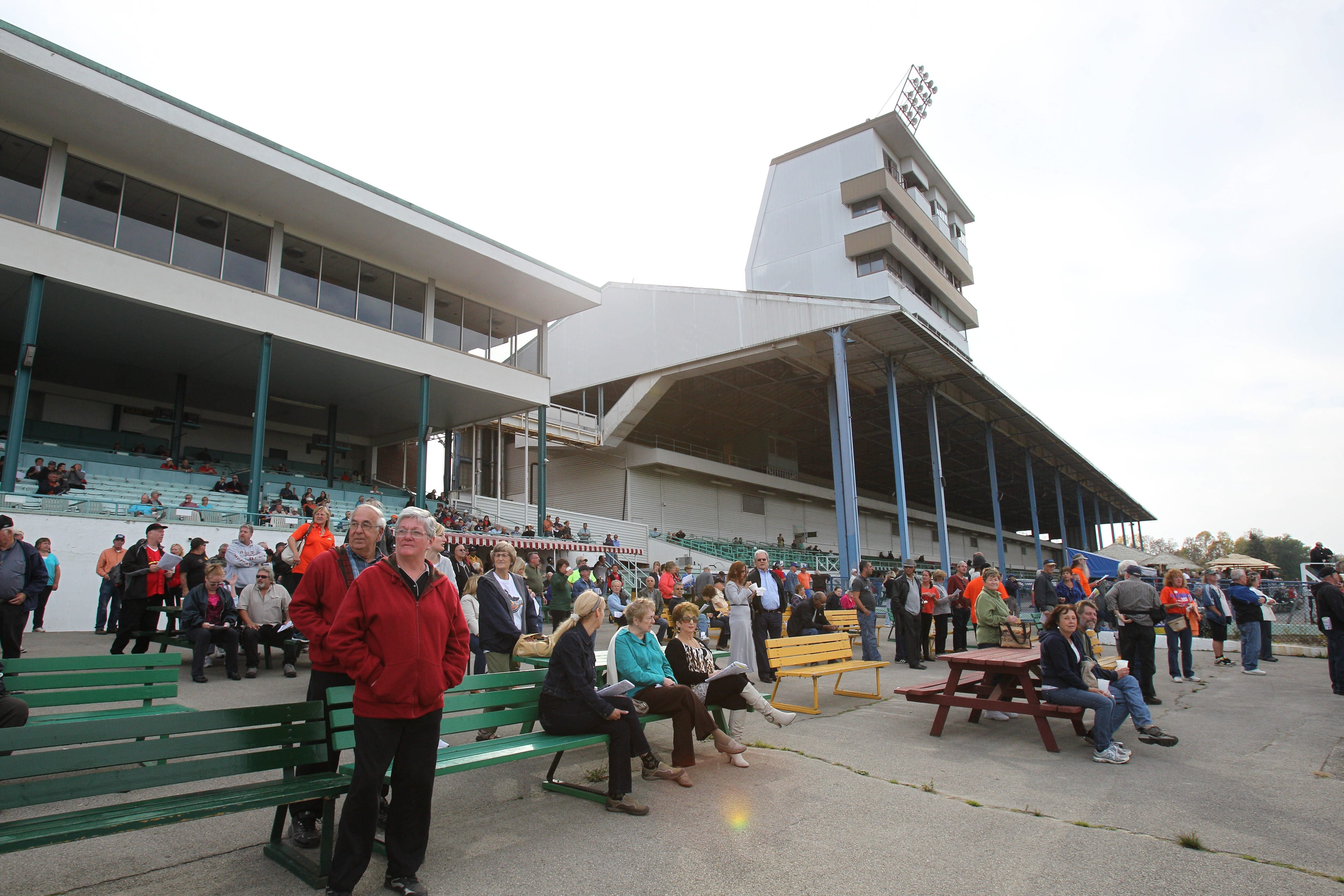 There may be new life for the Fort Erie Race Track. Here is a photo from the last day of the season on Tuesday, Oct. 15, 2013.   (Sharon Cantillon/Buffalo News)