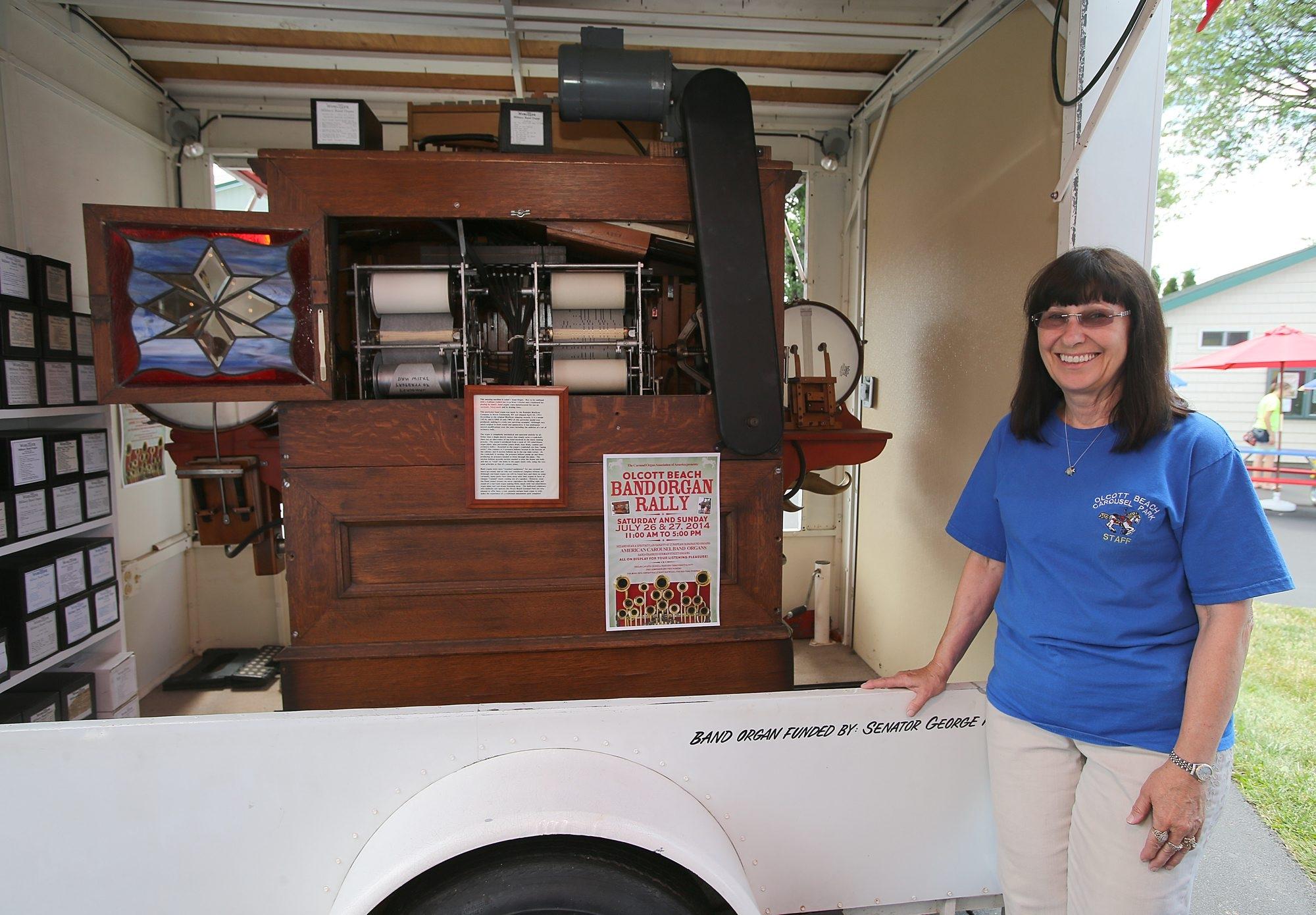 Rosemary Sansone is carousel park president.