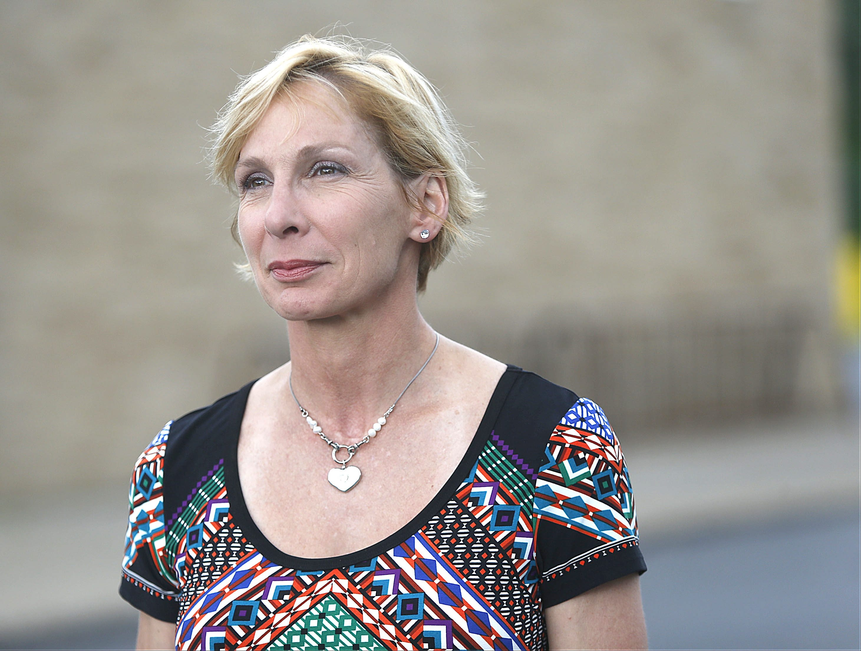 Catherine Schrauth Forcucci says she would deal with people differently if given the chance.