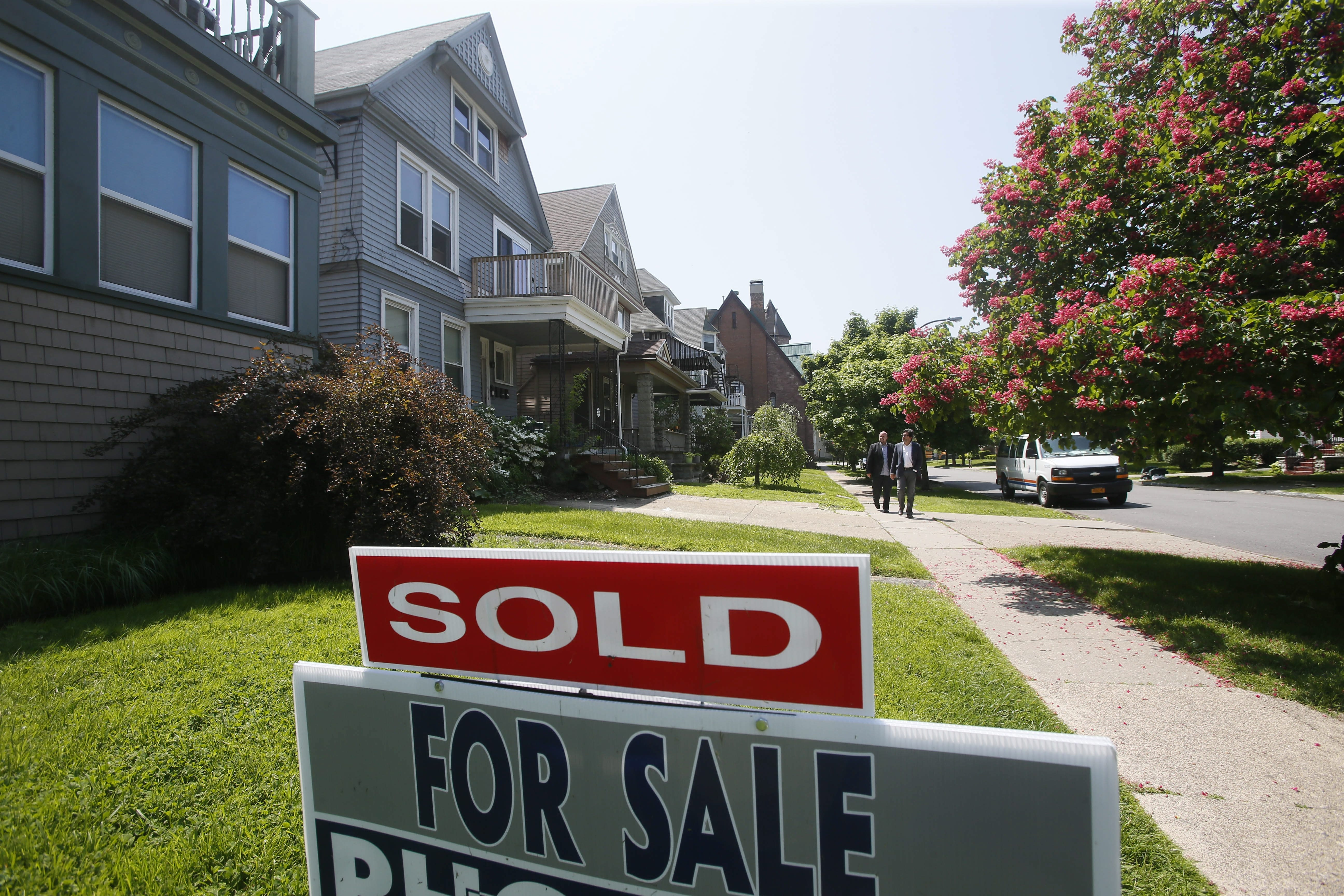 Low inventory in popular areas, like Bryant Street in the Elmwood Village, has driven up competition.