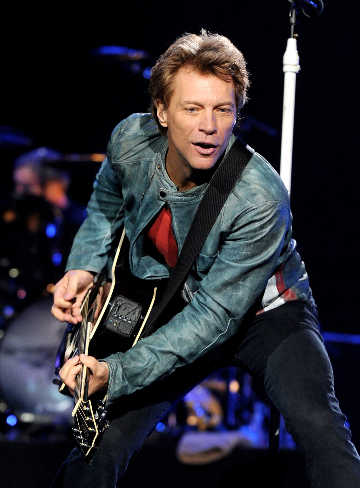 Jon Bon Jovi is aligned with a Toronto group that submitted a preliminary bid to buy the Buffalo Bills. (Getty Images)