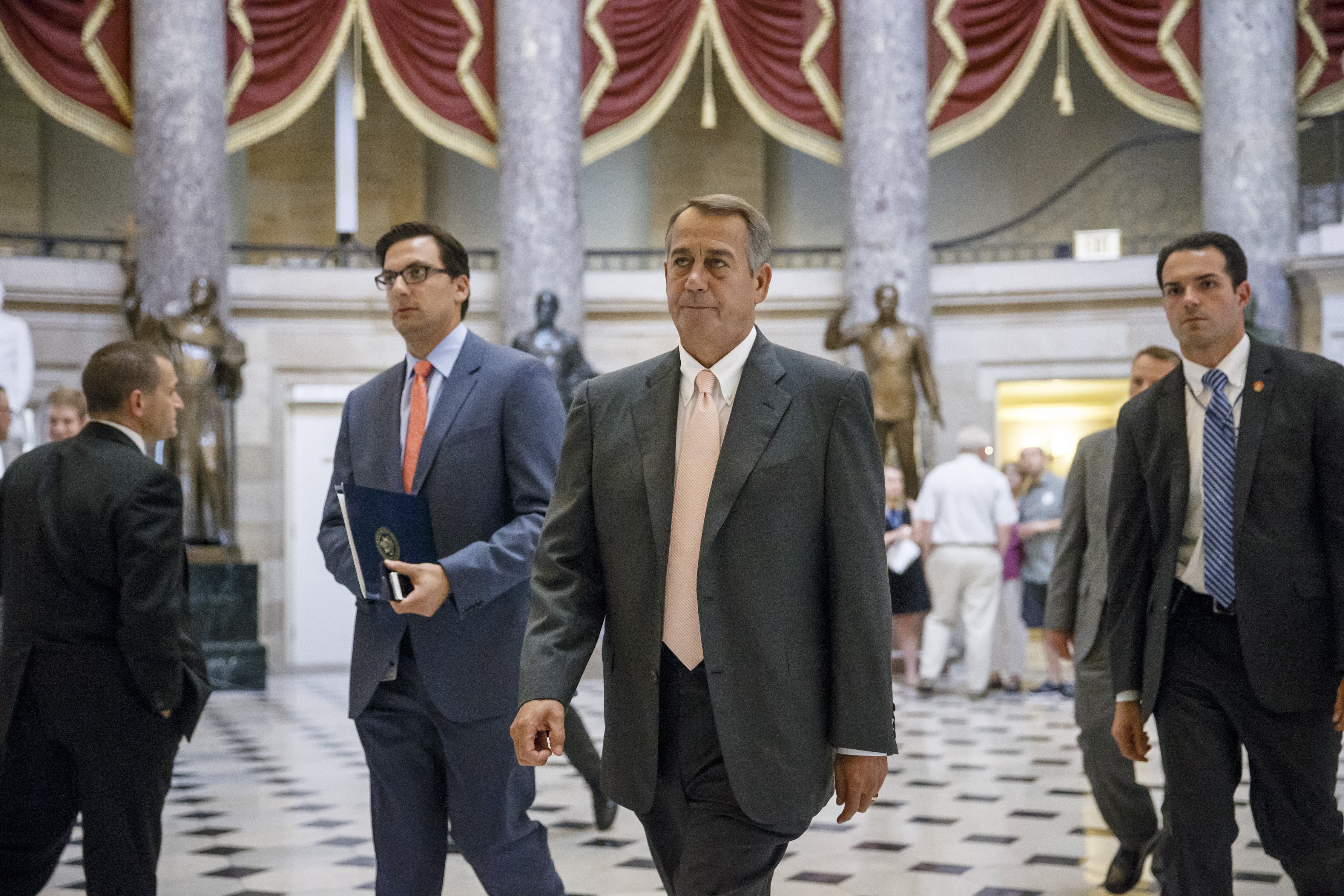 Speaker of the House John Boehner, who has voted dozens of times to kill Obamacare, is now suing President Obama for not strictly enforcing provisions of the law.