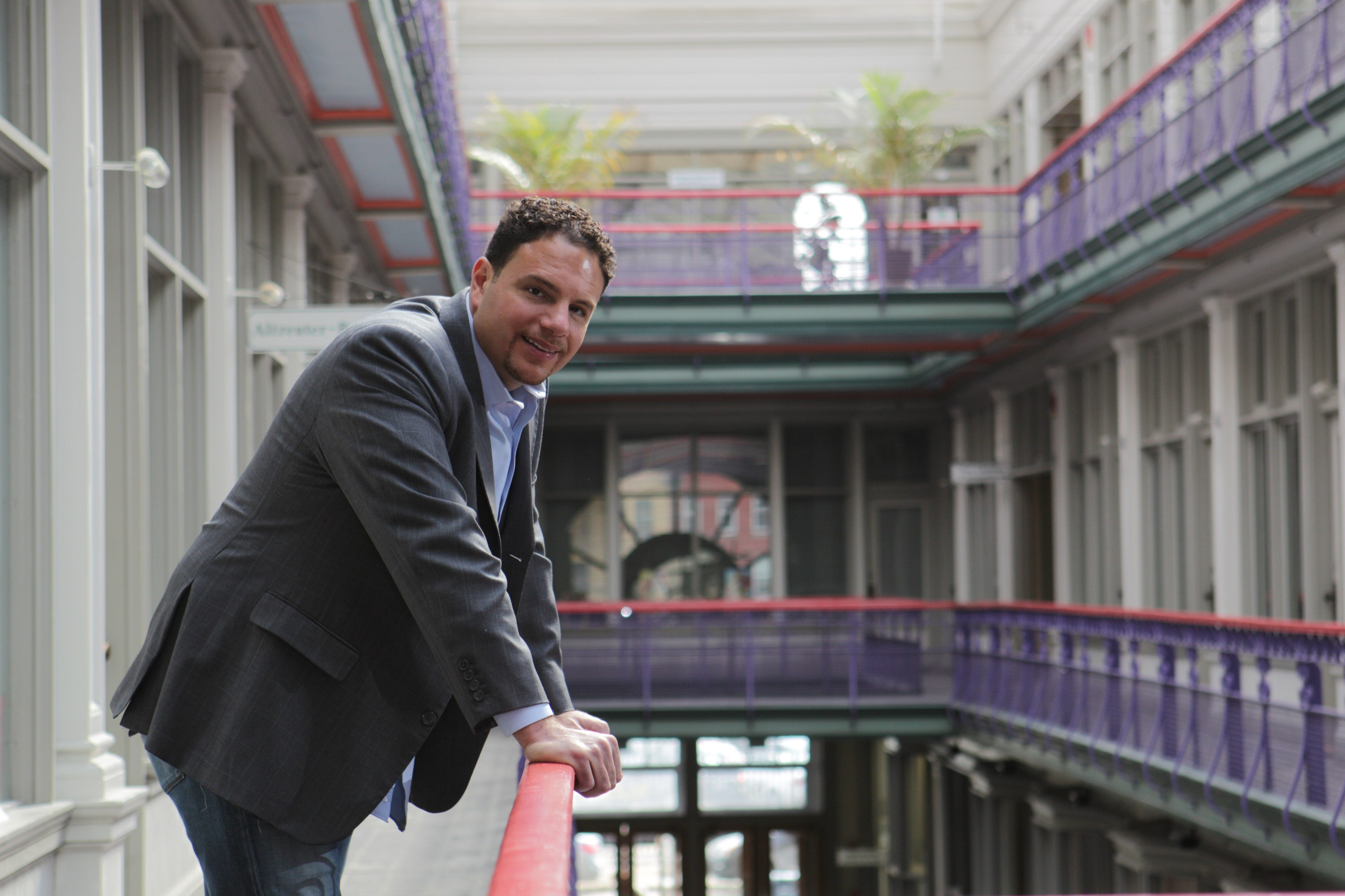 Developer Nick Sinatra is among those in the business community who are making it their business to help improve education in the Buffalo City School District.