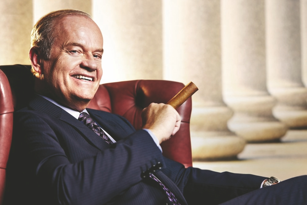 """Kelsey Grammer stars as a Chicago lawyer in the new FX series """"Partners,"""" premiering at 9 p.m. Monday."""