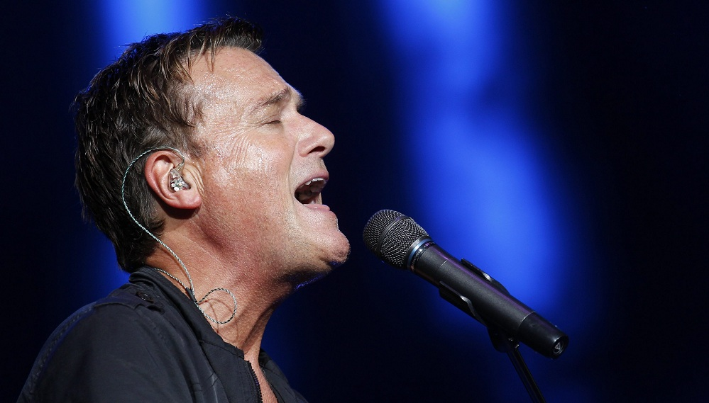 Michael W. Smith performs at Kingdom Bound. (Sharon Cantillon / Buffalo News)