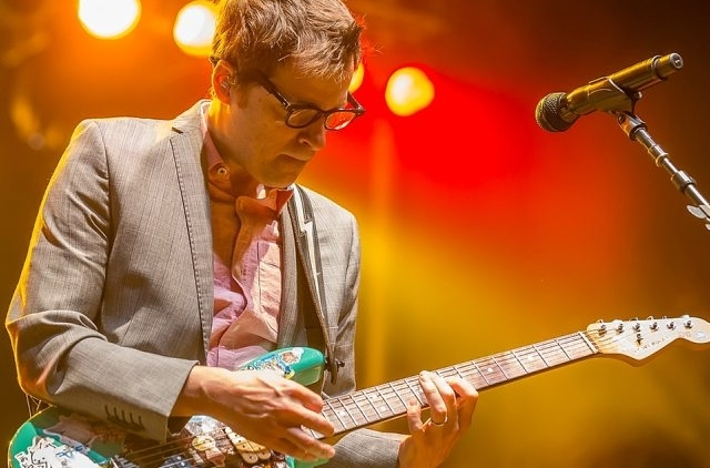 """Rivers Cuomo, Clarence-native Patrick Wilson, Scott Shriner and Brian Bell excelled throughout a 90-minute set at Edgefest, breezing through hits like """"Island in the Sun,"""" """"Hashpipe,"""" My Name is Jonas"""" and """"Troublemaker."""" Photos taken on Aug. 10, 2014. (Don Nieman / Special to the News)"""