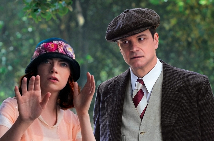 """Emma Stone and Colin Firth star in """"Magic in the Moonlight."""""""