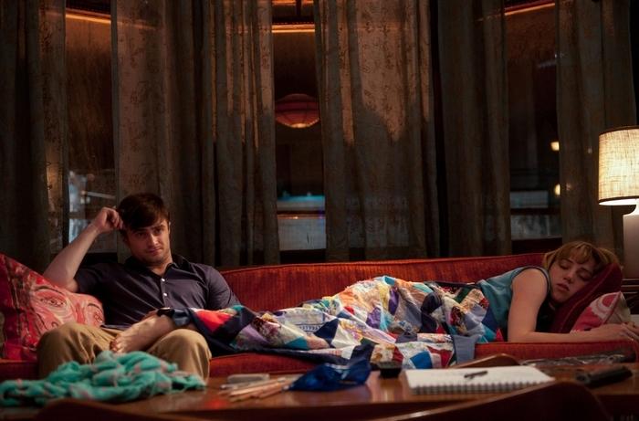 "Daniel Radcliffe and Zoe Kazan star in ""What If."""