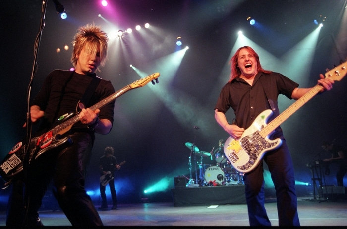 The Goo Goo Dolls return to perform in the Darien Lake Performing Arts Center.